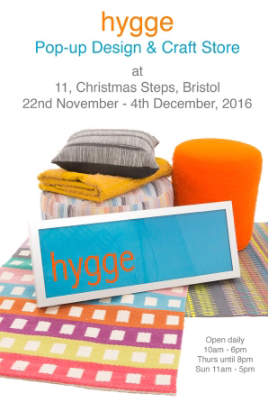 Hygge pop-up shop, Bristol 2016